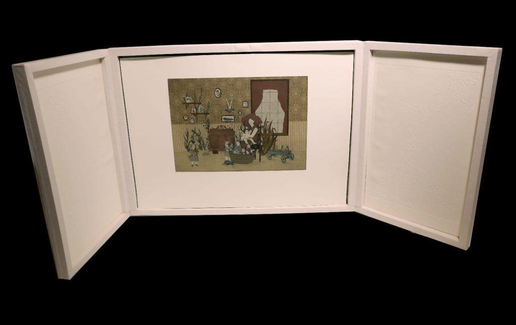 """Caja de presentación"", 2018"
