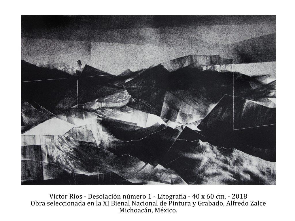 Desolación número 1, 2018