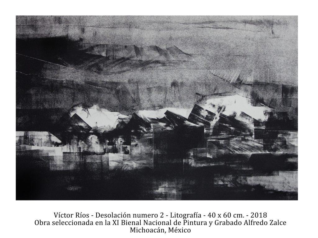 Desolación número 2, 2018