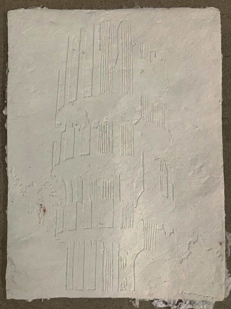 Estudio II Monumento a la Revolución en Kozara, 2019