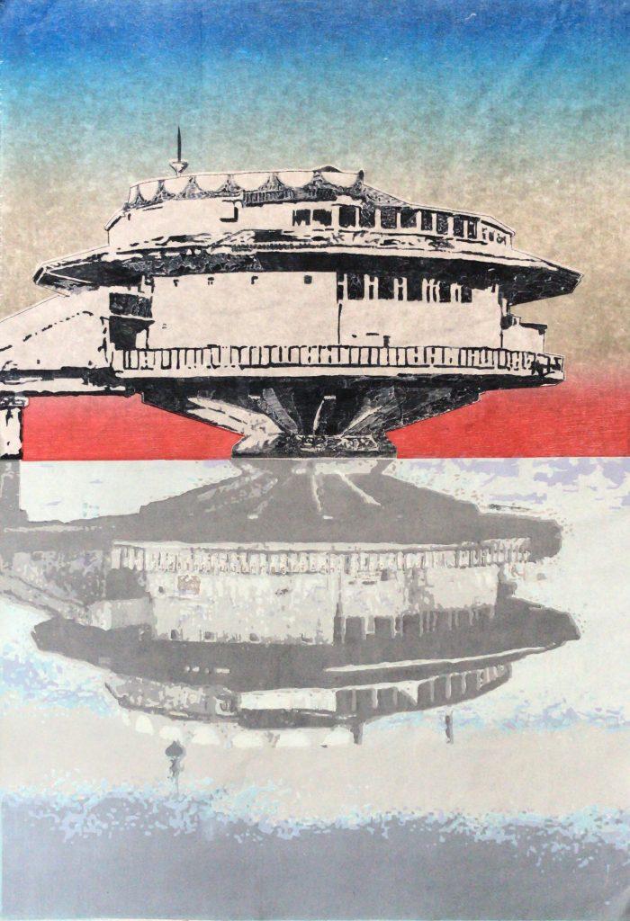 """Hiroshige amanece en Poplavok"", 2019"