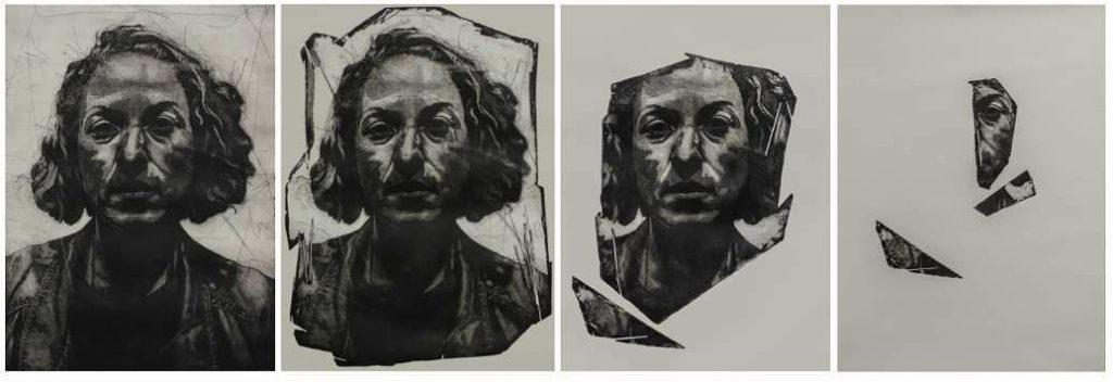Fragmentación corporal I, II, III y IV, 2019